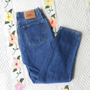 LEVI'S 550 Vintage Relaxed Tapered High Rise Jeans